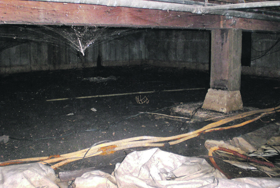 Mechanically Ventilated Crawl Spaces
